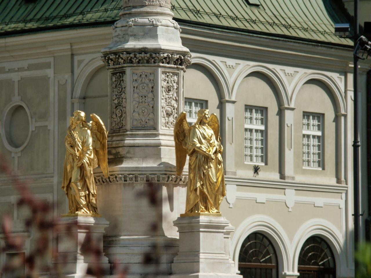 De Zagreb Cathedraal de beschermengelen