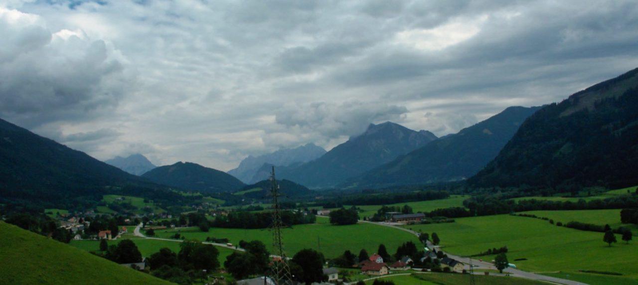 Het is prachting langs de Oostenrijkse snelweg