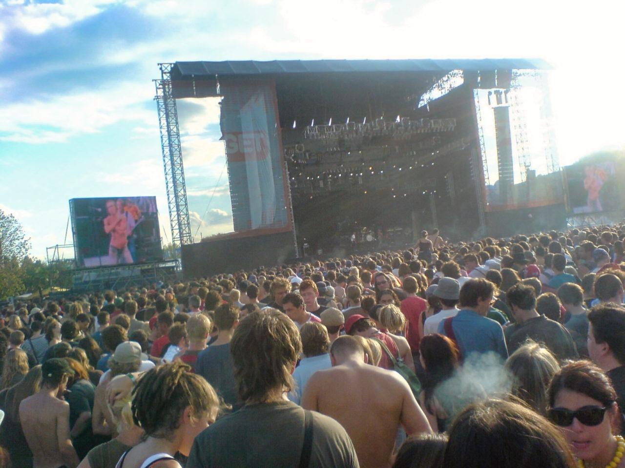 Iggy Pop op Sziget festival