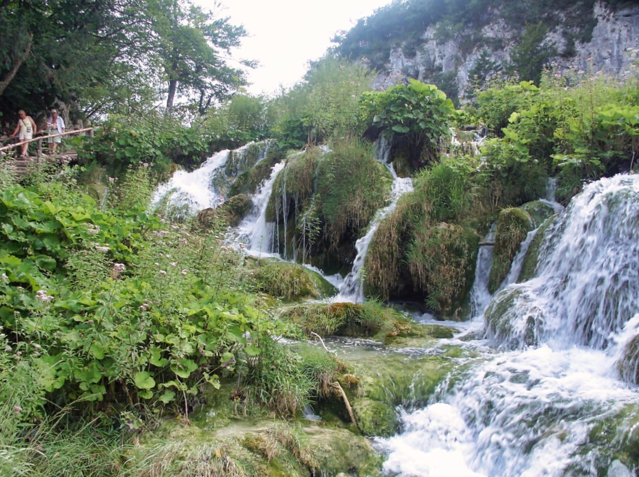 Prachtige watervallen