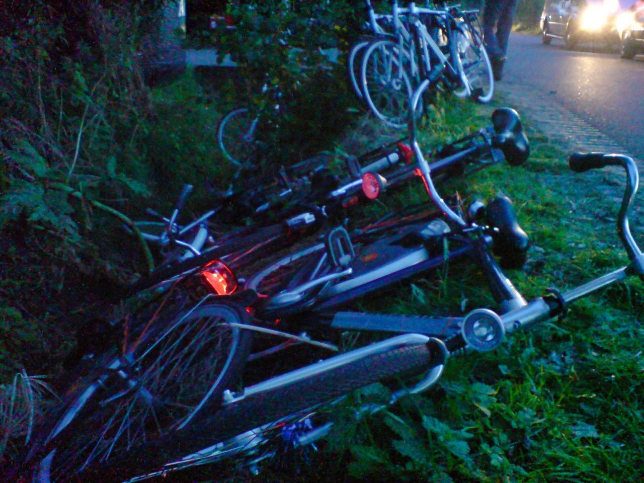 Creatief fietsen parkeren