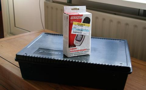 Volcraft SL50 decibel meter met verpakking
