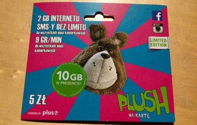 Poolse simkaart met internet